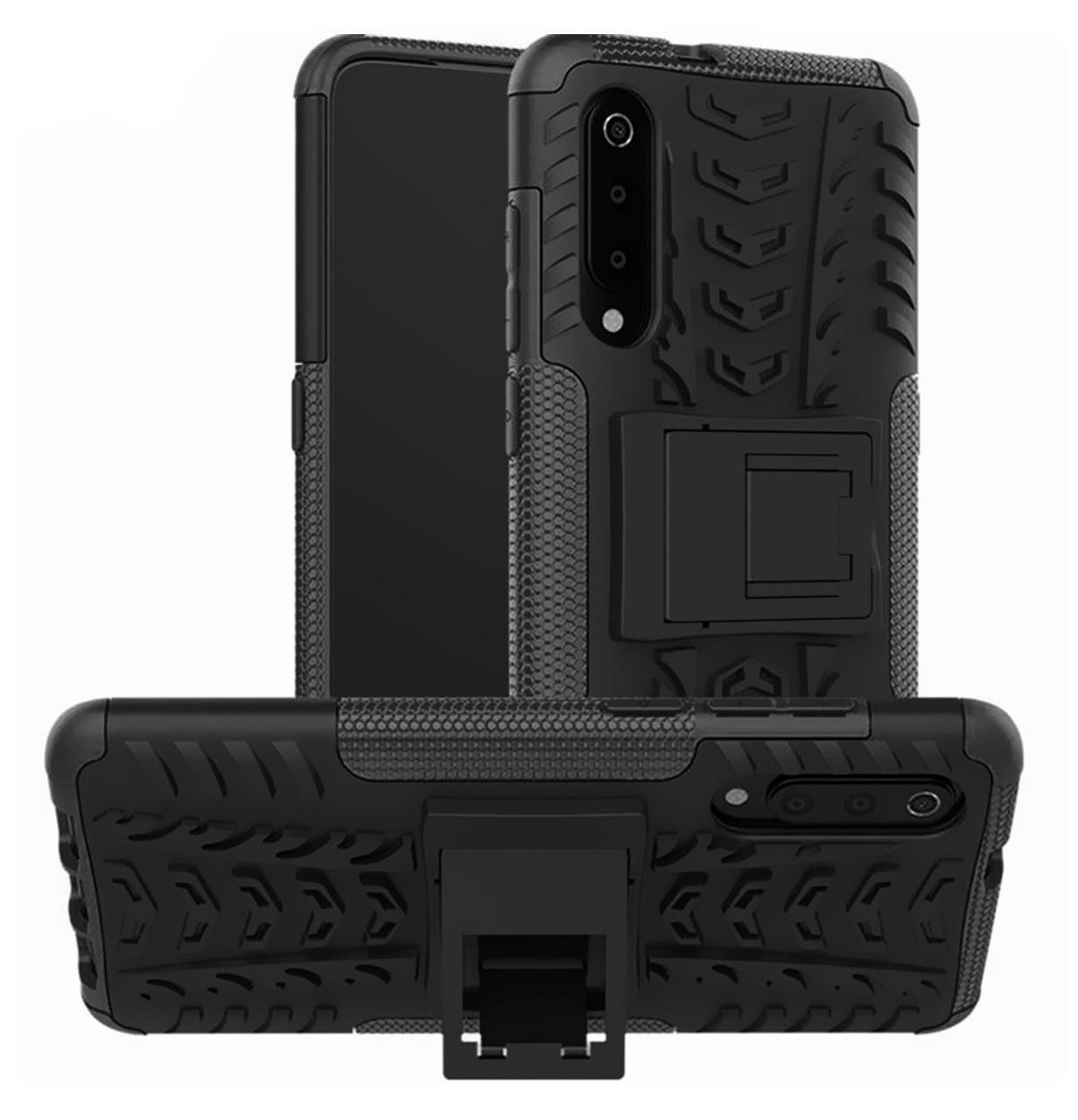 Противоударный двухслойный чехол Shield для Xiaomi Mi 9