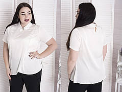 Элегантная женская блуза из шёлка с 48 по 82 размер, фото 2