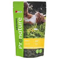 Pronature Original Adult Chiсken пронатюр ориджинал курица корм для котов 0.34 кг.