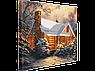 Набор для вышивания бисером FLF-086Зимний лес30*40 Волшебная страна качественный , фото 2