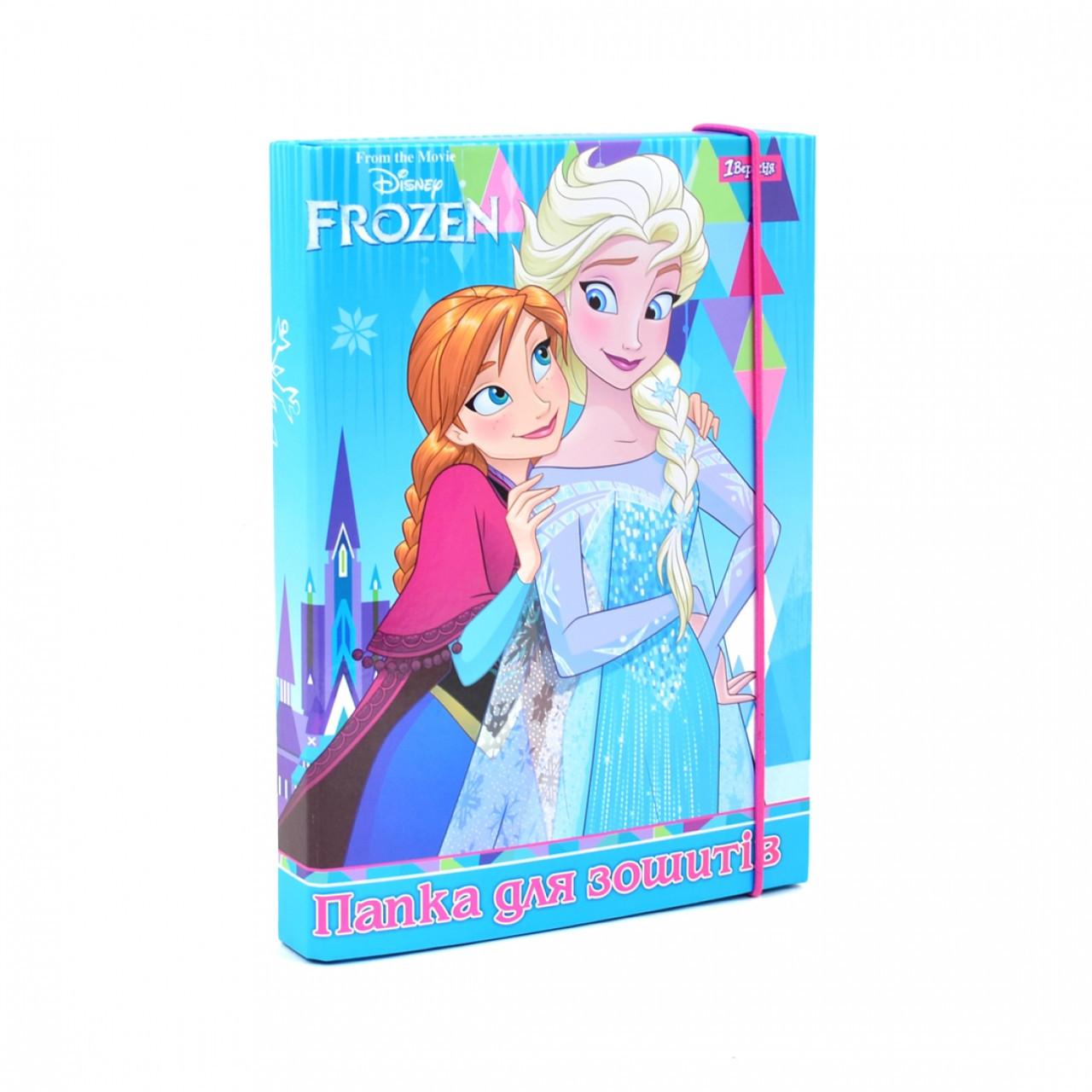 """Папка для тетрадей картонная В5 """"Frozen"""""""