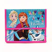 """Папка для тетрадей пластиковая на резинке В5 """"Frozen"""""""