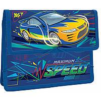 """Папка для тетрадей пластиковая на резинке В5 """"Speed Car"""""""
