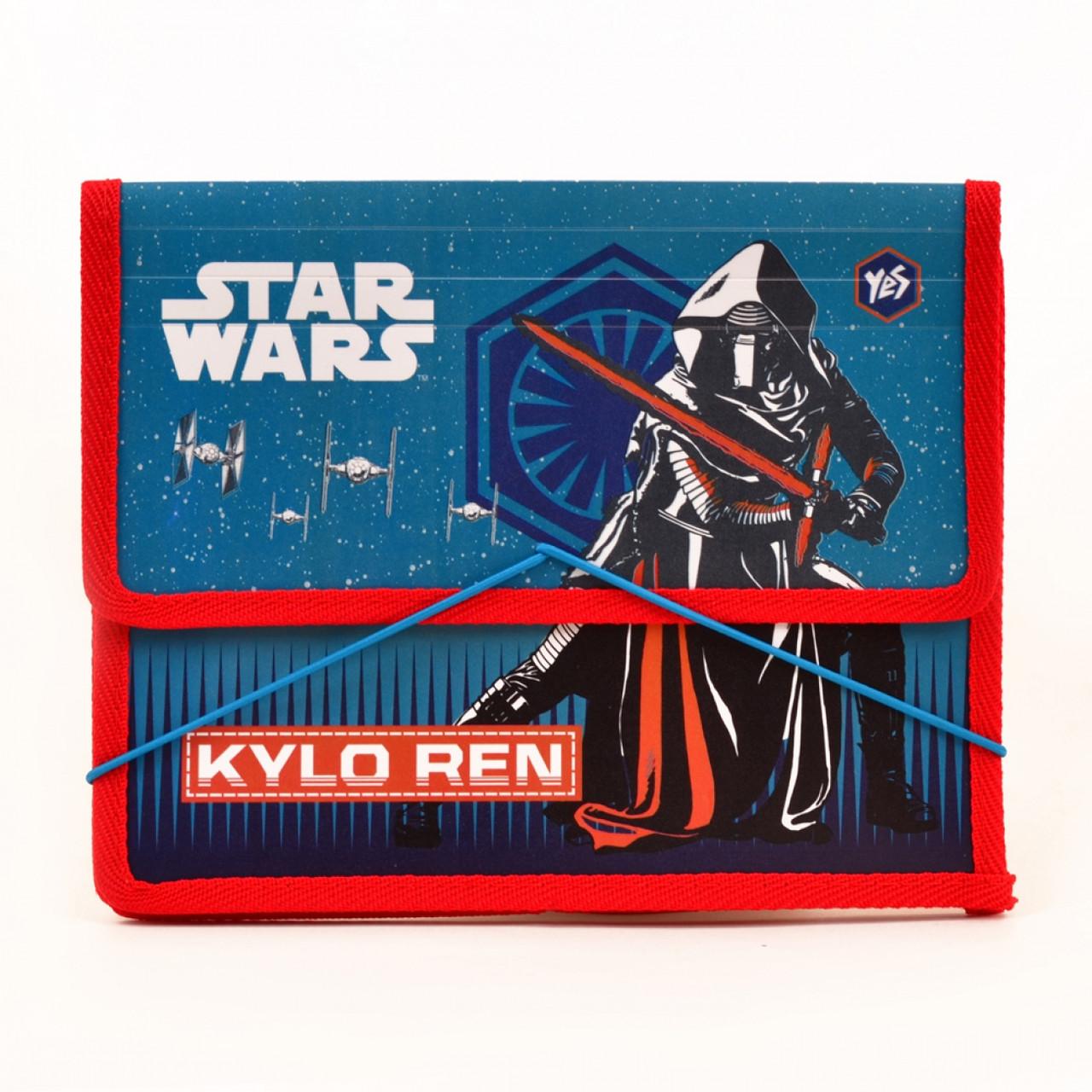 """Папка для тетрадей пластиковая на резинке В5 """"Star Wars"""""""