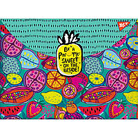 "Папка-конверт на кнопке А4 ""Exotic fruits"""
