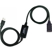 Кабель подовжувач активний USB2.0 AM/AF Viewcon (VV 043-25м.)