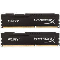 Модуль памяти для компьютера DDR3 8Gb (2x4GB) 1866 MHz HyperX Fury Black Kingston (HX318C10FBK2/8), фото 1