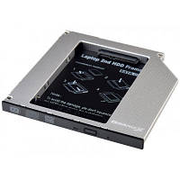 Фрейм-переходник Grand-X HDD 2.5'' to notebook 9.5 mm ODD SATA3 (HDC-26), фото 1