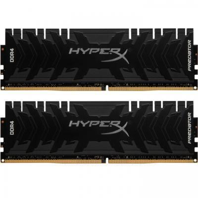 Модуль памяти для компьютера DDR4 16GB (2x8GB) 3333 MHz HyperX Predator Lifetime Kingston (HX433C16PB3K2/16)