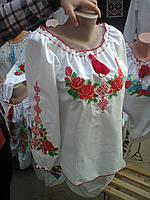 Вышиванка  для девочки  01007  Мария  ( C.Р.Б.)