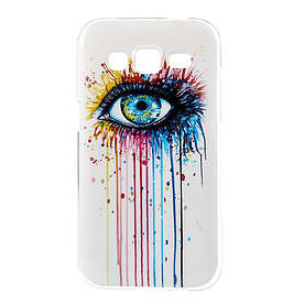 Чехол Samsung Galaxy Core Prime G360H, TPU Радужный взгляд