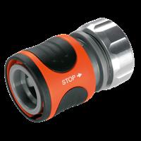 Высококачественный коннектор с автостопом 13 мм (1/2 дюйма) Premium GARDENA