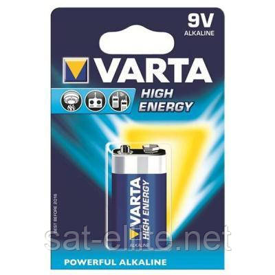 Батарейка Varta 6LR61 LONGLIFE Power Alcaline (04922121411)