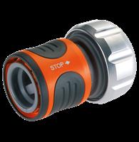 Высококачественный коннектор с автостопом 19 мм (3/4 дюйма) и 16 мм (5/8 дюйма) Premium GARDENA