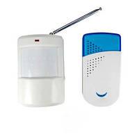Автоматический беспроводный цифровой звонок-сирена с ИК датчиком движения