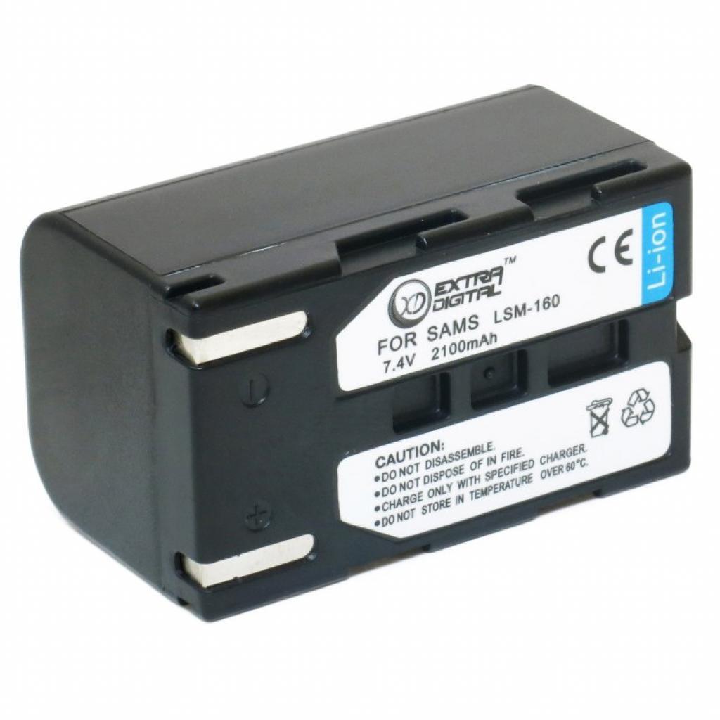 Аккумулятор к фото/видео EXTRADIGITAL Samsung SB-LSM160 (BDS2624)