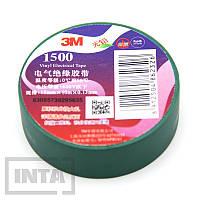 Изолента 3M™ 1500, зеленая