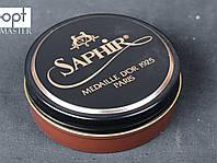 Паста для обуви Saphir Medaille D'or Pate De Luxe, цв. светло коричневый (03), 50 мл