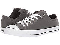 Кроссовки/Кеды Converse Chuck Taylor All Star Leather - Ox Carbon Grey/White/Black