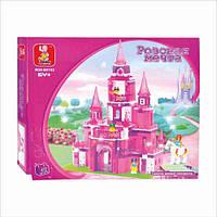 Детский конструктор  Sluban 619947/M 38 B 0152 Замок для принцессы, 472 дет