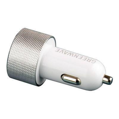 Зарядное устройство Greenwave 12-24V, 2*USB 5V/2.4A (CH-CC-224M silver