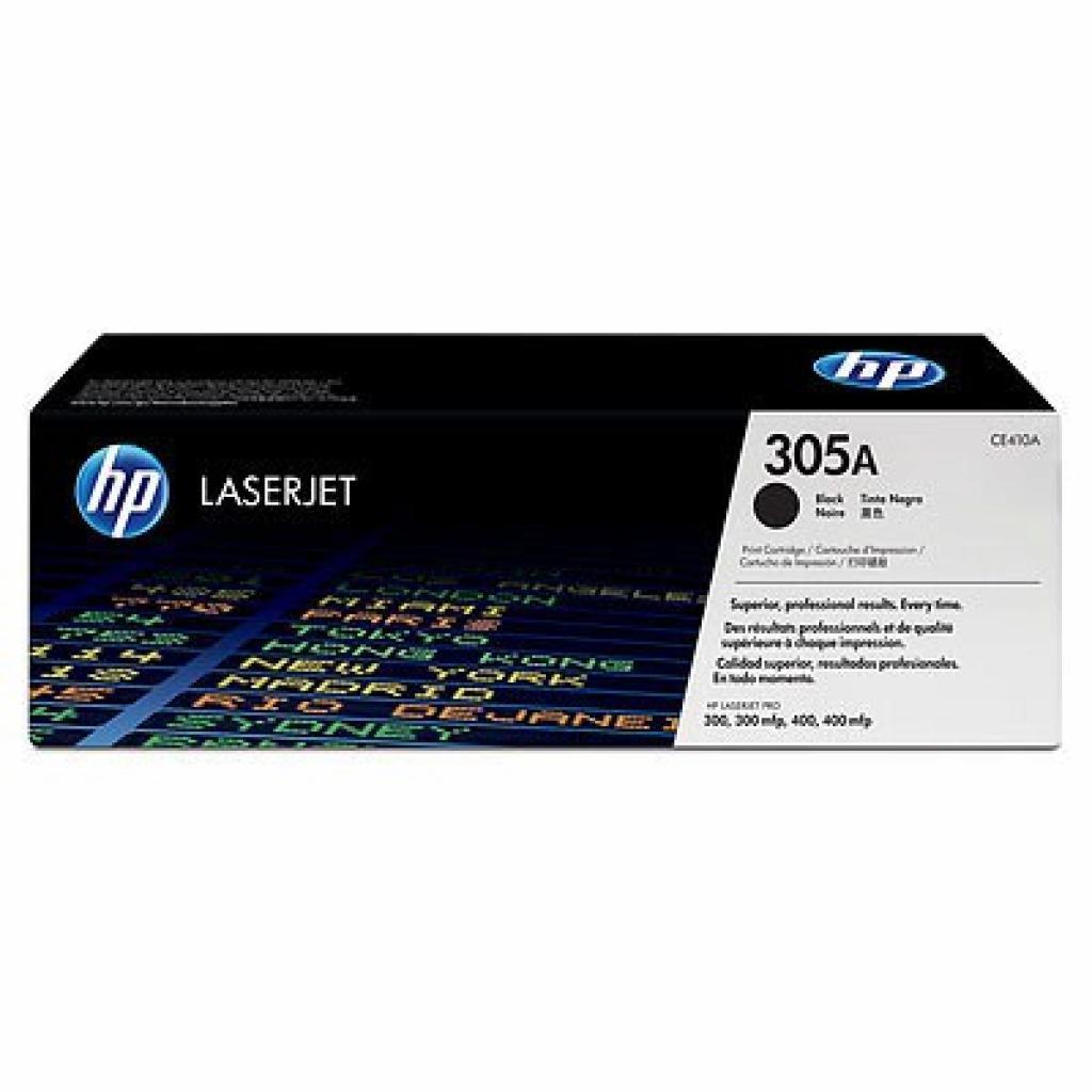 Картридж HP CLJ  305A black (CE410A)