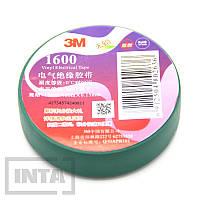 Изолента 3M™ 1600, зеленая, фото 1