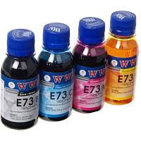 Чернила WWM EPSON CX3700/TX119/TX419/TX209 B/C/M/Y SET (E73SET-2)