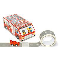 """Игровой набор Красный автобус """"Авто Фан"""" Версия Эко(руc.язык)"""