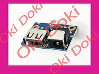 Разъем питания ноутбука Lenovo Ideapad G480, G580, N580, N585 (Разъем+ USB с платой!) LG4858 55.4SH03.001 55.3SH03.0