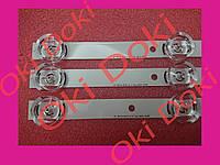"""Набор светодиодных линеек LG 32LB 32LF  LG Innotek DRT 3.0 32"""" 2A+1B 6в Sung Wei LC320DUE FG LC320DXE FG HC320"""