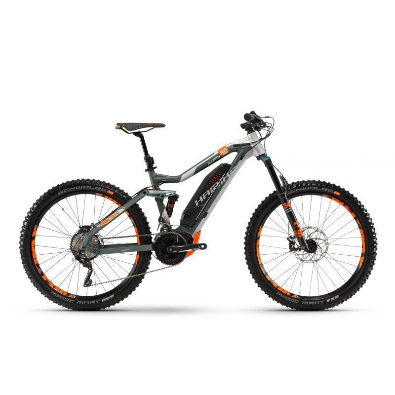 """Велосипед Haibike XDURO AllMtn 8.0 27.5"""" 500Wh, рама 44см, ход:150мм, 2018"""
