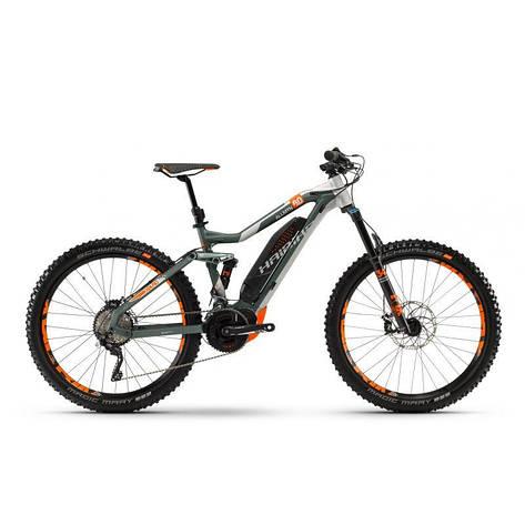 """Велосипед Haibike XDURO AllMtn 8.0 27.5"""" 500Wh, рама 44см, ход:150мм, 2018, фото 2"""