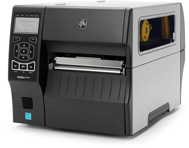Промышленный принтер этикеток Zebra ZT 420, фото 1
