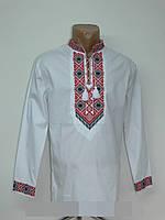 Вышиванка  рубашка  мужская  лен (С.Р.Б.)
