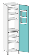 Шкаф медицинский ШО-2