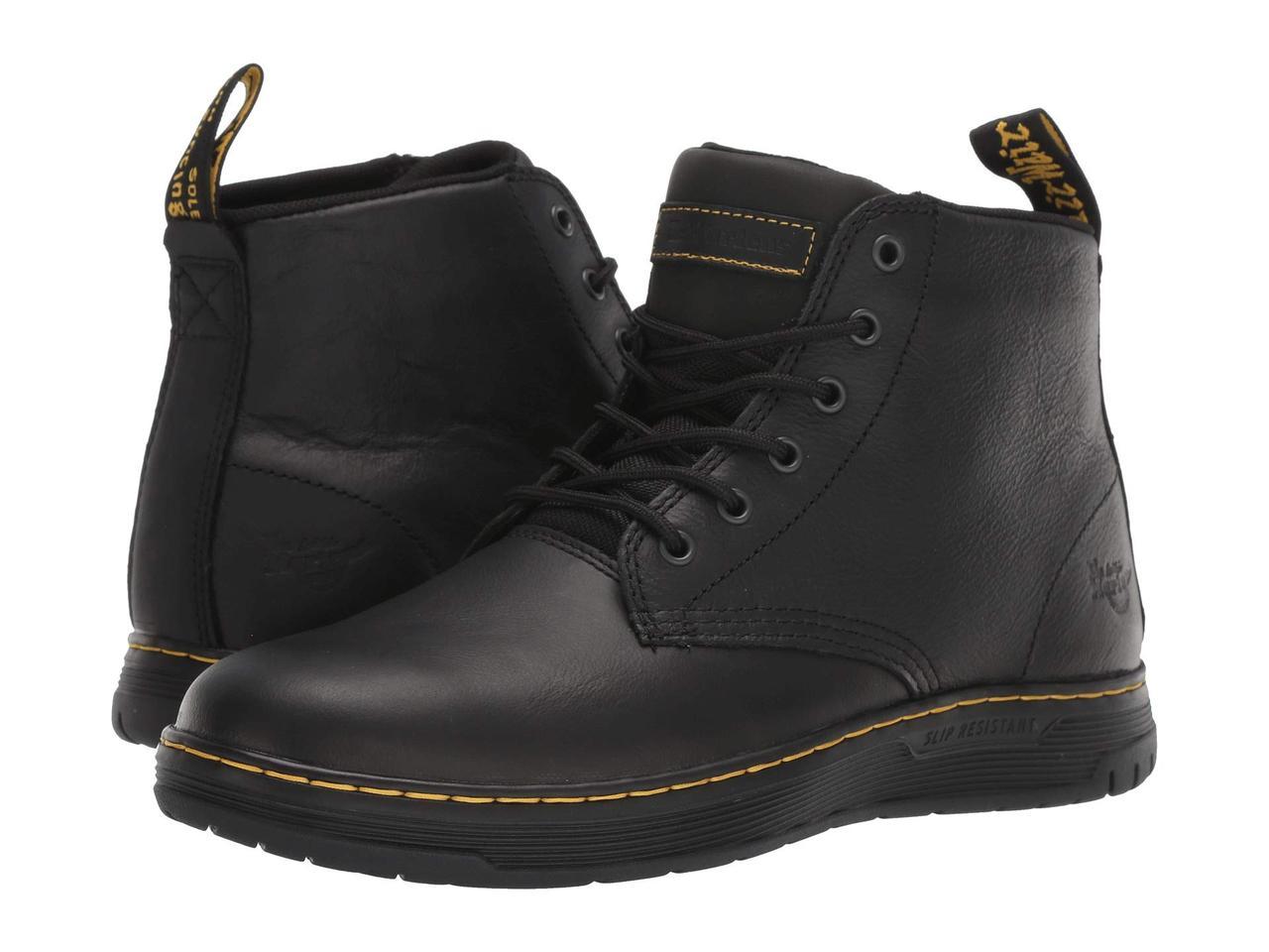 Ботинки/Сапоги (Оригинал) Dr. Martens Work Amwell SR Black/Black/Black/Black