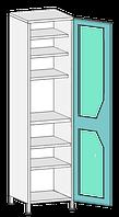 Шкаф медицинский ШО-1с