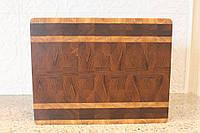 Доска разделочная торцевая из ценных и экзотических твёрдых пород дерева