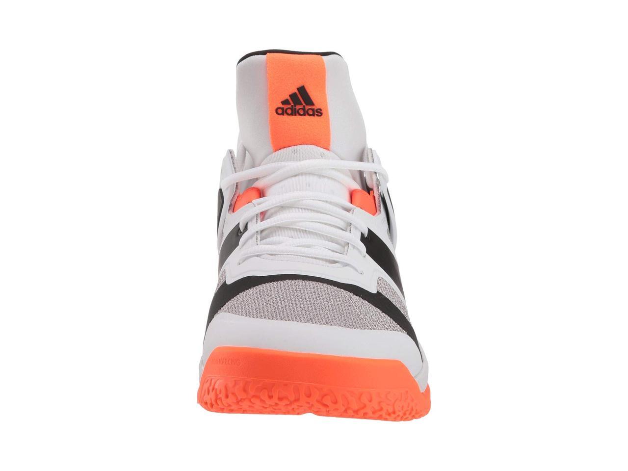best sneakers 267a7 e911d Кроссовки/Кеды (Оригинал) adidas Stabil X Mid Footwear White/Core  Black/Solar Orange