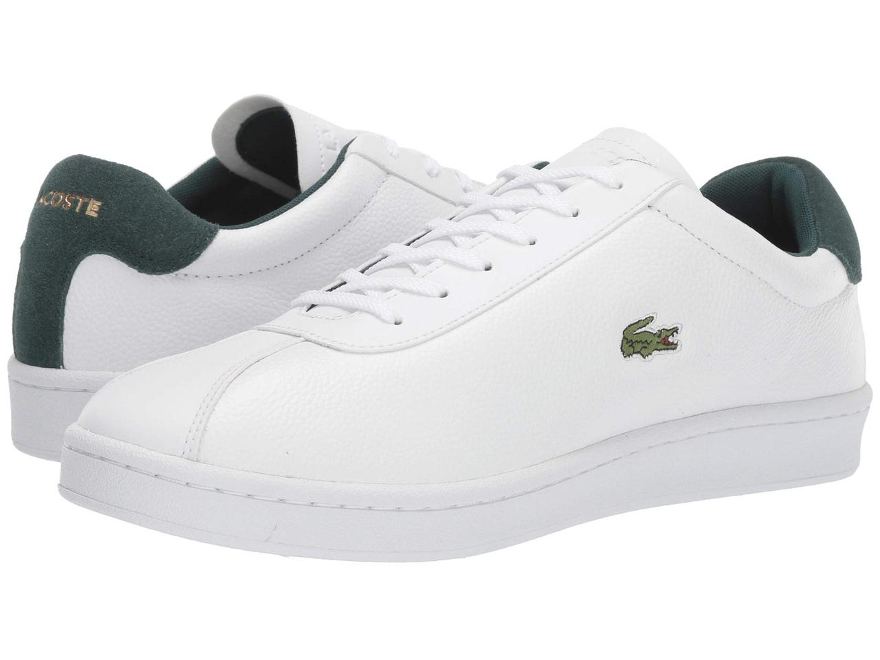 Кроссовки/Кеды (Оригинал) Lacoste Masters 319 1 White/Dark Green
