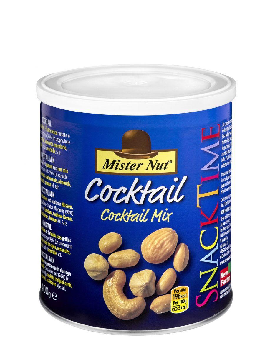Коктейль Микс ореховая смесь Mr Nut Snack Time,400г
