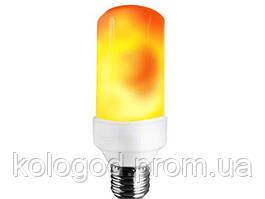 Лампа с Эффектом Пламени Огня LED Flame Bulb А+