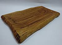 Поднос деревянный для салата, 32 * 18 см.