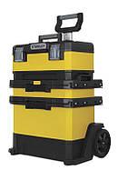 Ящик-візок для інструменту з колесами STANLEY Rolling Workshop металопластик (73x56.8x38.9см) 1-95-621