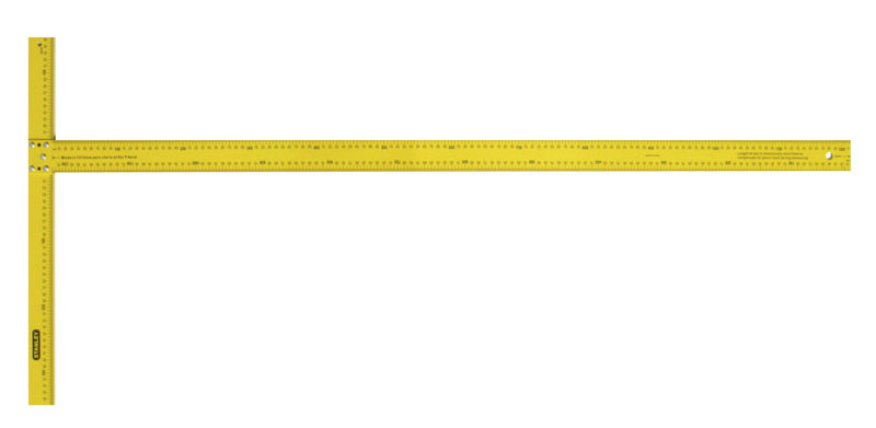 Угольник Т-образный для раскроя гипсокартонных плит 122см  STANLEY STHT1-05894