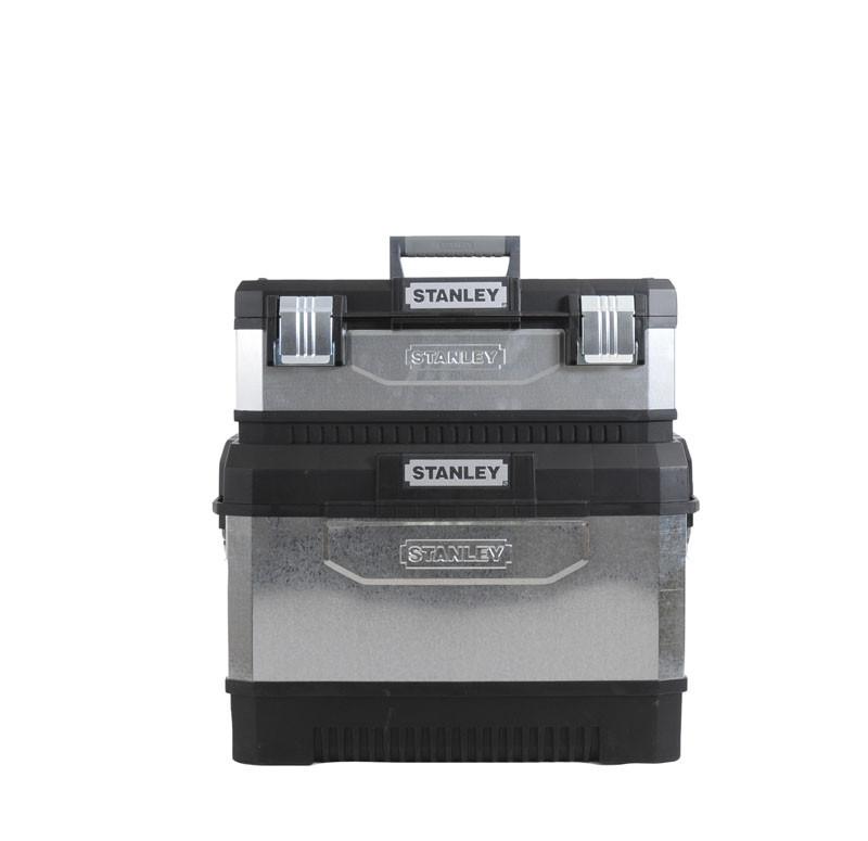 Ящик инструментальный с колесами 65Х64Х39 металический  STANLEY 1-95-832