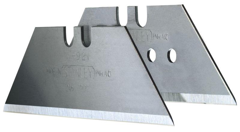 Лезвие ножа 1992 (без отверстий) для отделочных работ усиленное 400шт.  STANLEY 4-11-921