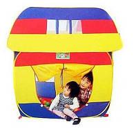 Большая детская палатка Домик арт.8078