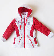 """Демисезонная куртка для девочки с капюшоном """"Пелюрия"""""""